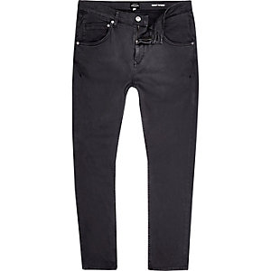 Grey Chester skinny tapered jeans