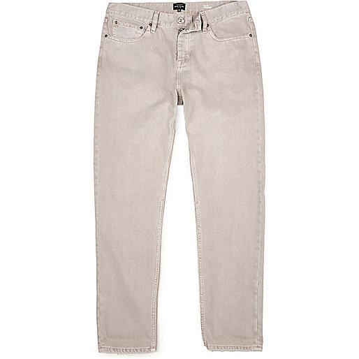 Ecru Jimmy slim tapered jeans