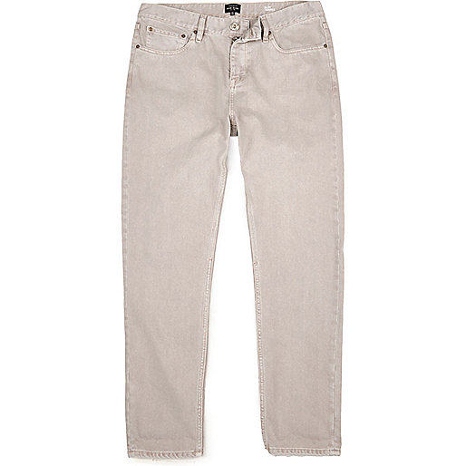 Ecru Jimmy slim tapered jeans