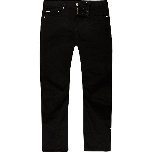 Curtis – Schwarze Loose Fit Jeans