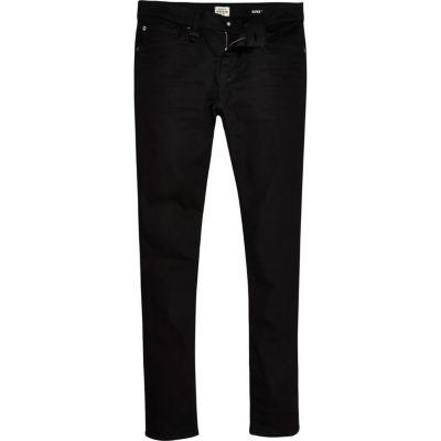 Zwarte RI Flex Danny superskinny jeans