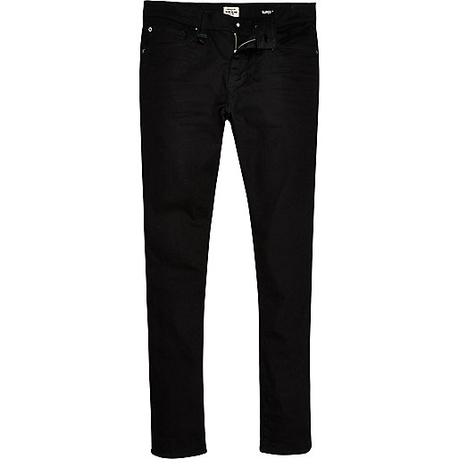 Danny – RI Flex – Schwarze Super Skinny Jeans