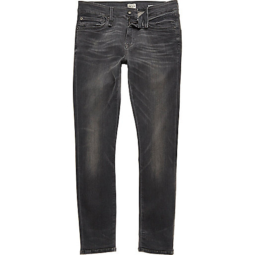 RI Flex – Danny – Graue, superenge Skinny Jeans