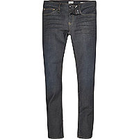 Danny – Skinny Jeans in dunkelblauer Waschung