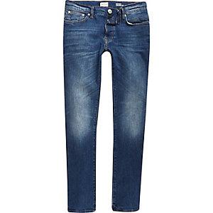 Mid blue wash Ronnie cigarette jeans
