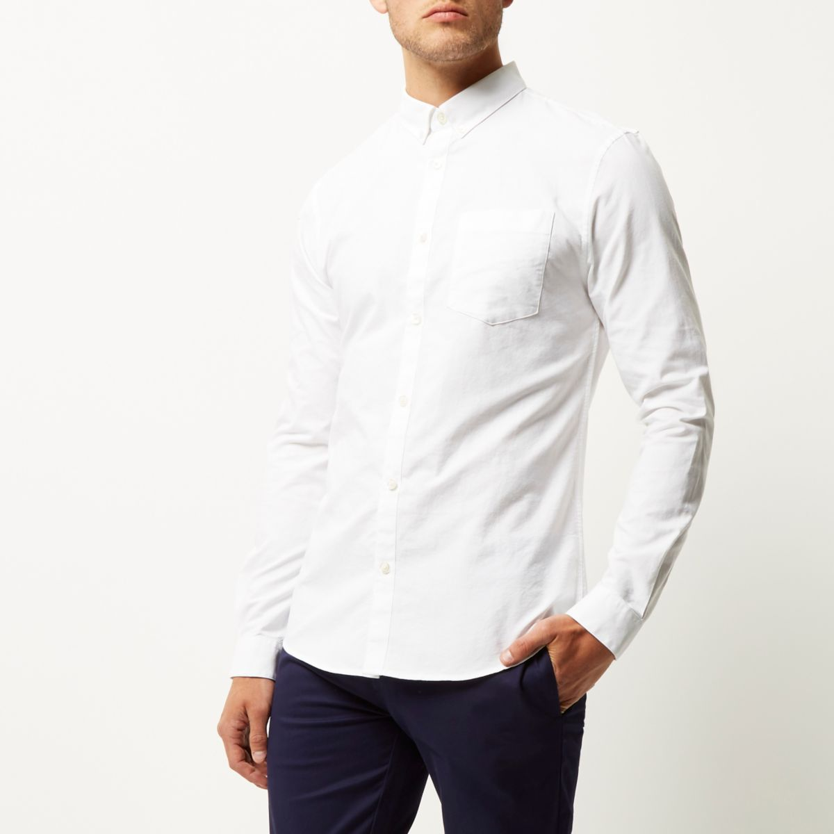 Find great deals on eBay for slim fit white shirt. Shop with confidence.