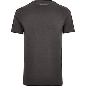 Grijs aansluitend T-shirt