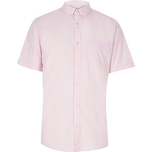 Oxford-Hemd in Hellrosa