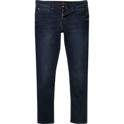 RI Flex Danny donkerblauwe superskinny jeans