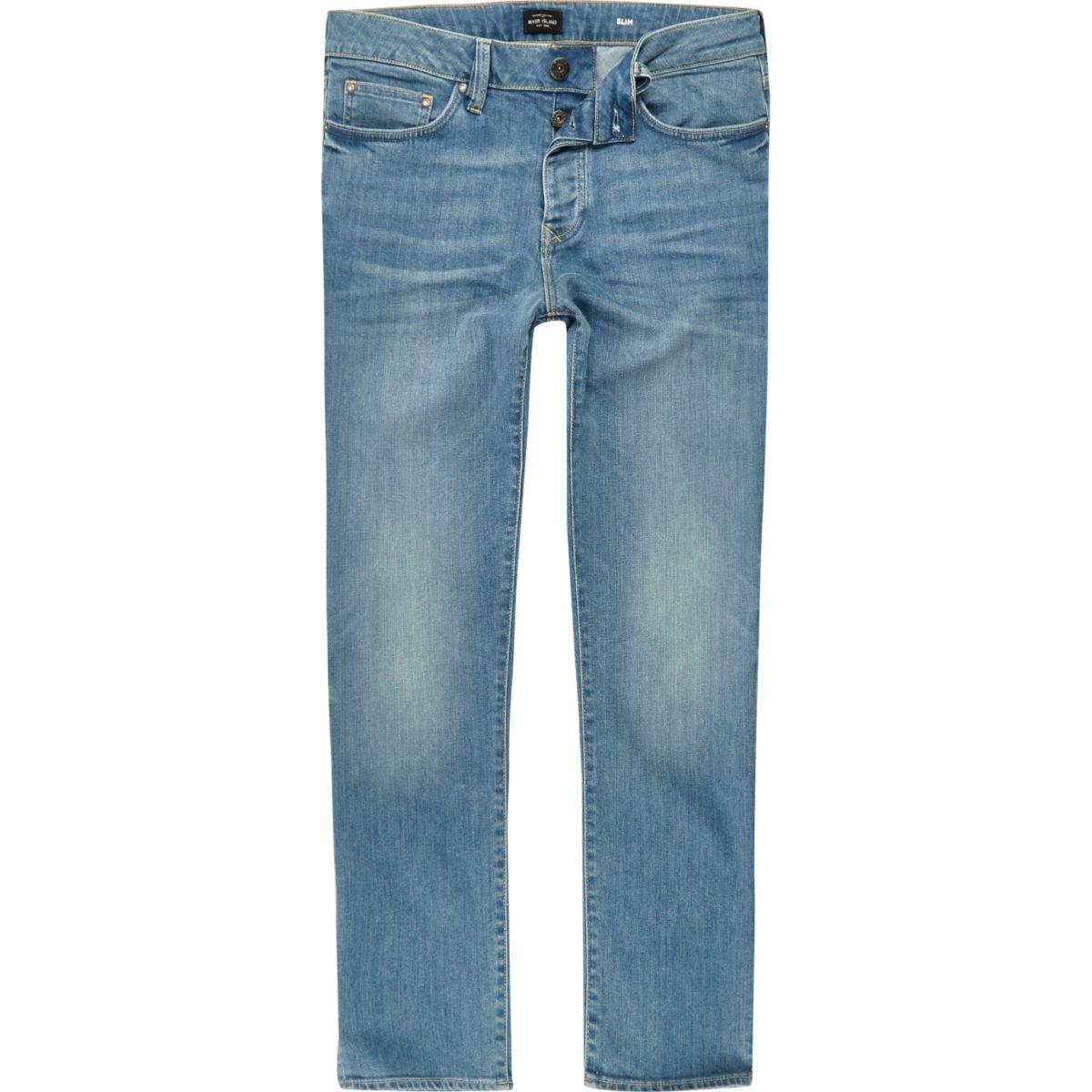 Dylan – Jean slim bleu moyen