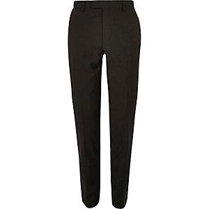 Kaki skinny-fit pantalon