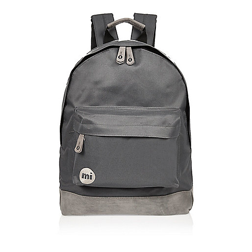 Dark grey Mi-Pac backpack