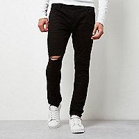 Sid - Zwarte ripped skinny jeans