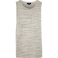 Grey pocket vest