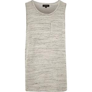 Grey pocket vest