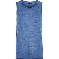 Blue pocket tank
