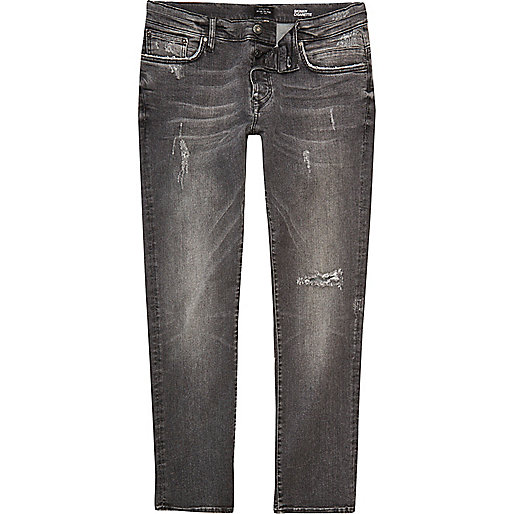Grey Ronnie skinny cigarette jeans