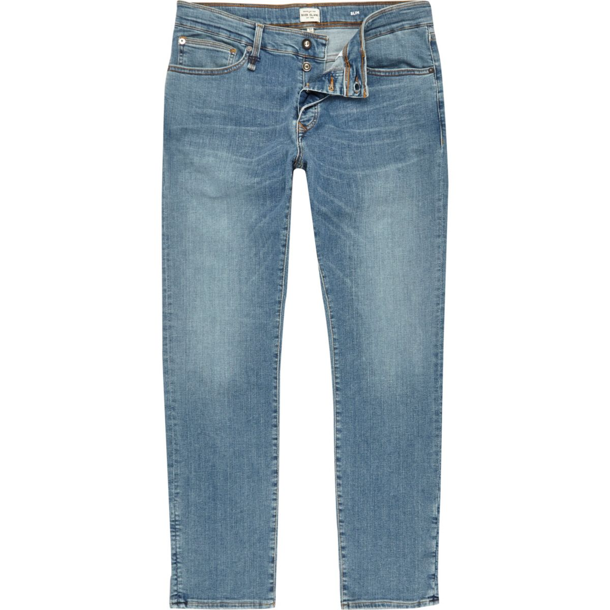 Light blue RI Flex Dylan slim fit jeans
