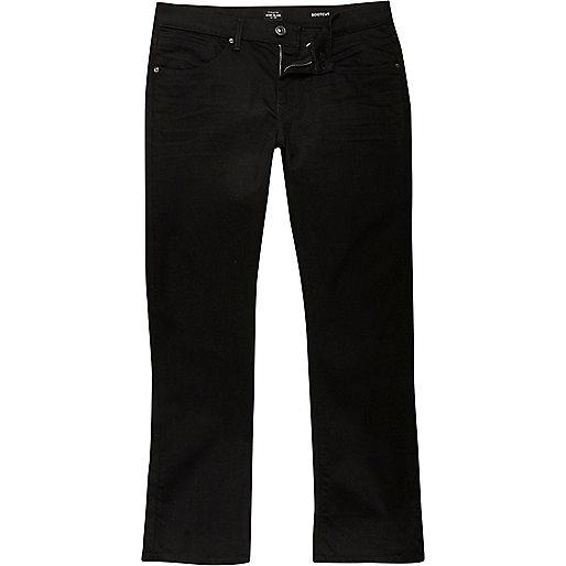 Clint – Jean bootcut noir