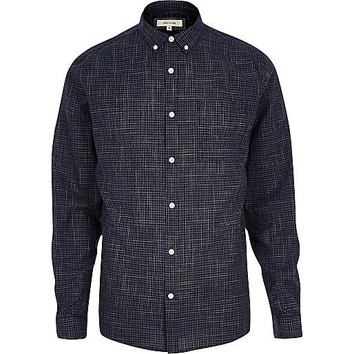 Casual, strukturiertes Hemd