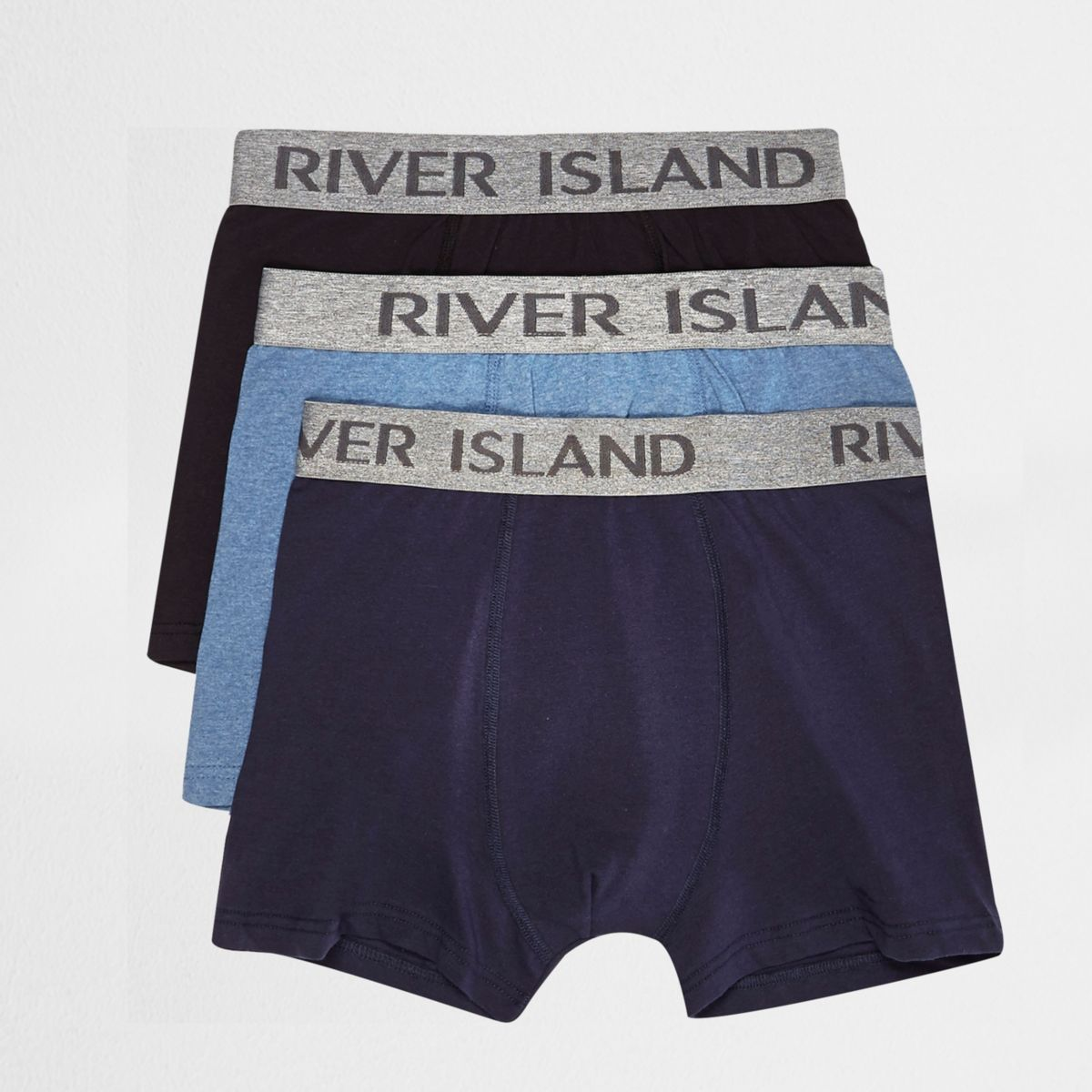 Navy boxers pack