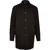 Imperméable minimaliste noir