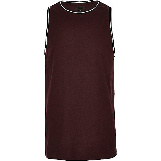 Tanktop in in Bordeaux
