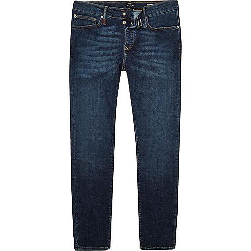 RI Flex – Sid – Dunkelblaue Skinny Jeans