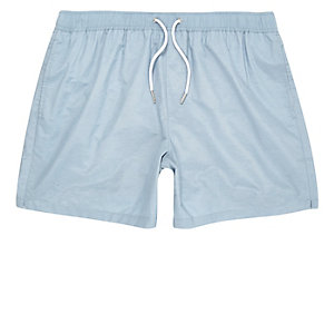 Light blue swim shorts