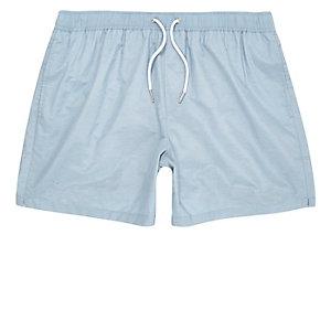 Light blue swim trunks