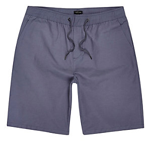 Purple casual shorts
