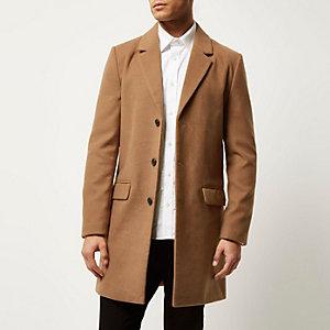 Manteau fauve habillé