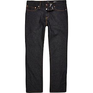 Clint dark blue rinse bootcut jeans