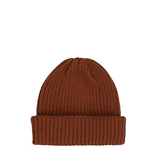 Dark orange fisherman beanie
