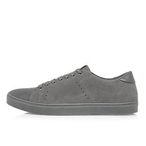 Grey tonal sneakers
