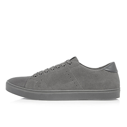 Grey tonal trainers