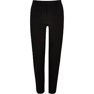 Black skinny suit trousers