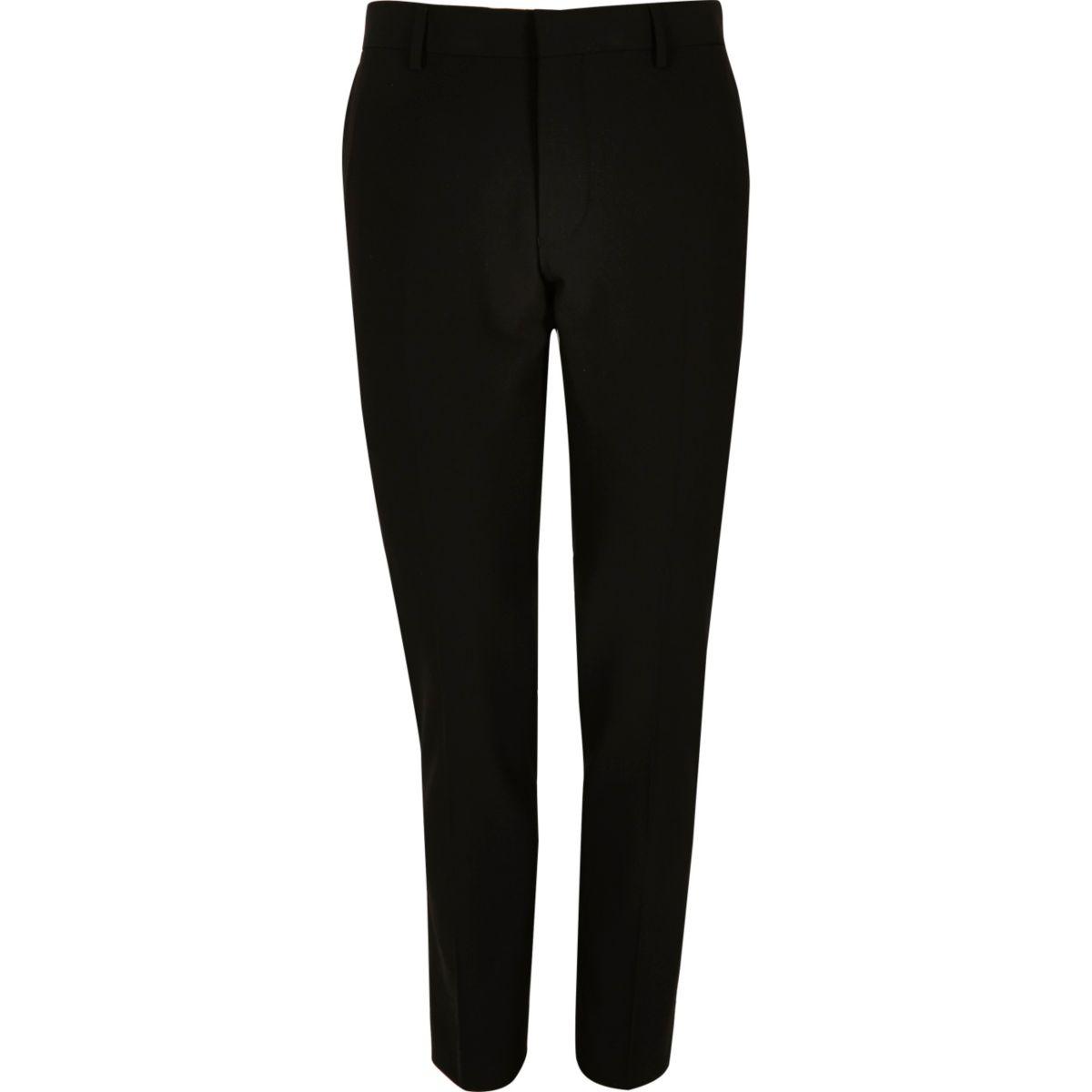 Zwarte superskinny-fit pantalon
