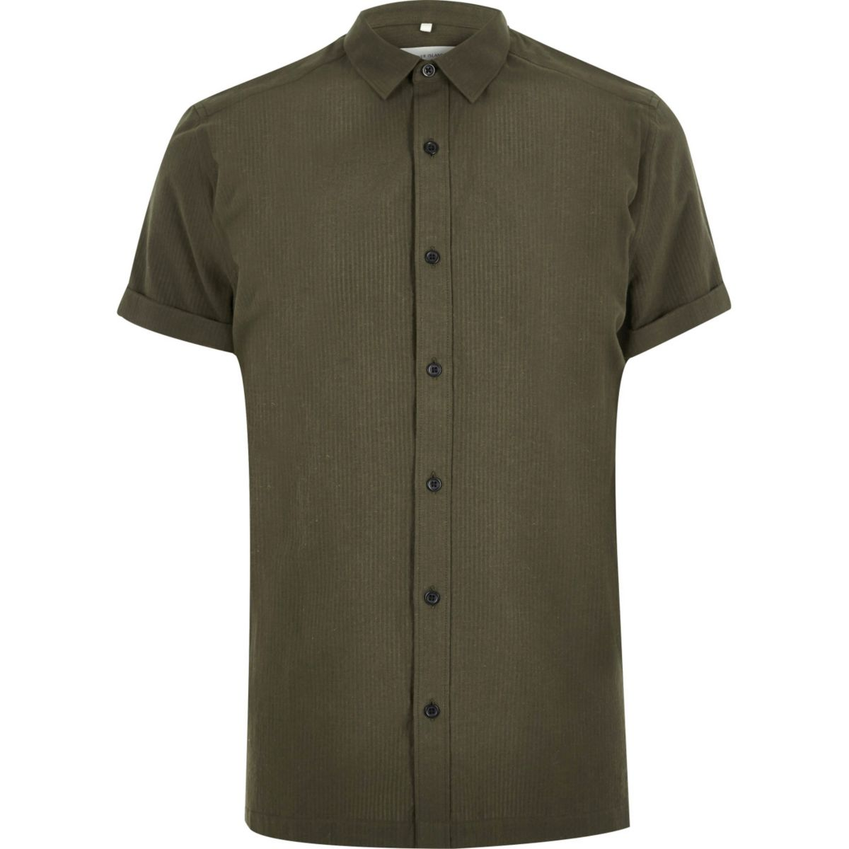 Green seersucker short sleeve shirt shirts sale men for Mens seersucker shirts on sale