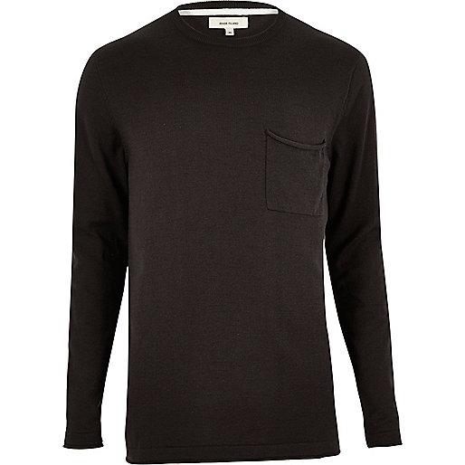 Black cotton tunic