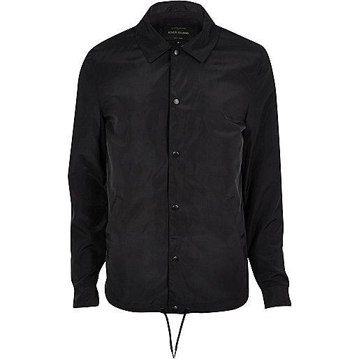 Black coach jacket