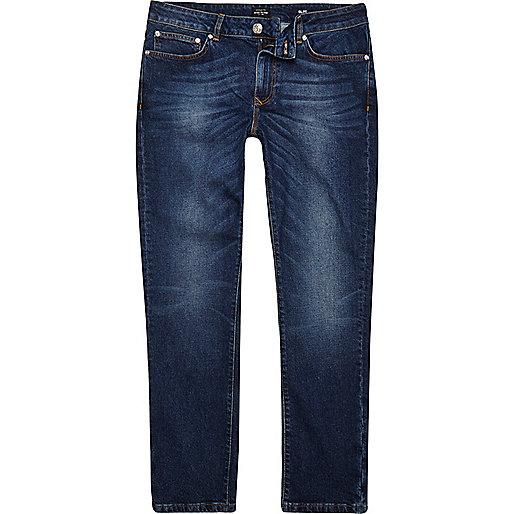 Dark blue wash Dylan slim fit jeans