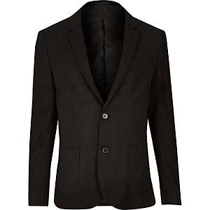 Zwarte skinny blazer
