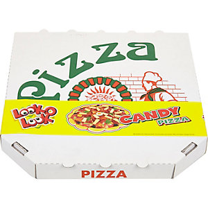 White candy pizza
