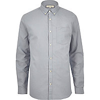 Sky grey oxford shirt