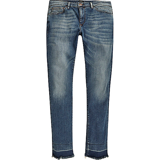 Blue wash Ronnie skinny cigarette jeans
