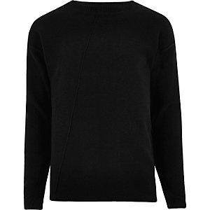 Only & Sons - Zwarte gebreide pullover