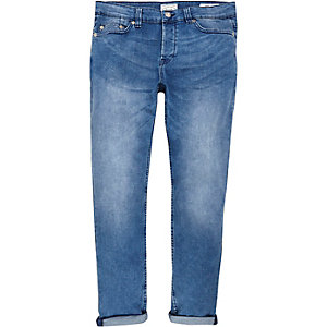 Mid blue wash Only & Sons slim jeans