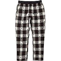 Ecru shadow skull print pajama pants