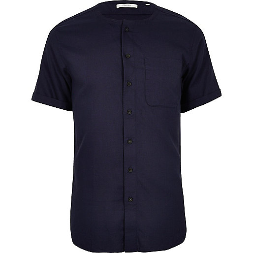 Jack & Jones Premium – Hemd in Indigoblau